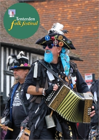 High Street Closed for Tenterden Folk Festival Procession