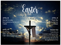 Easter at Zion Baptist Church