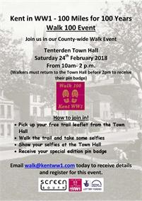 Walk100 Event - Tenterden Trail