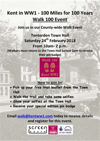 Walk100 Event - Tenterden Trail  sc 1 st  My Tenterden & Tenterden Kent Events Diary Whats On