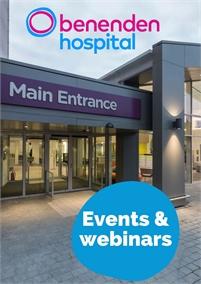 Benenden Hospital Webinars