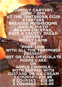 Sunday Lunch | The Tenterden Club