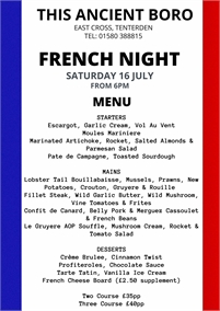 Food Nights   This Ancient Boro