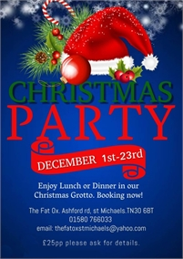 Christmas Party | The Fat Ox