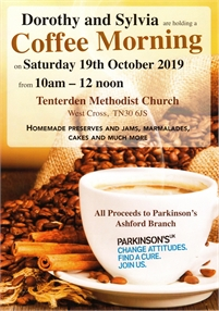 Coffee Morning for Parkinsons