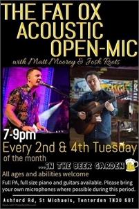 Open Mic Night   The Fat Ox Pub