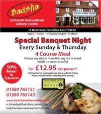 Badsha Special Banquet Night