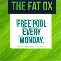 Pool at the Fat Ox