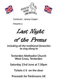 Invicta Wind Orchestra - Last Night of the Proms