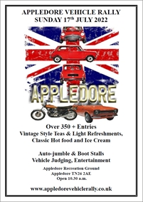 Appledore Vintage & Classic Vehicle Rally and Village Fair