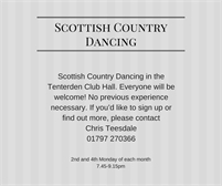 Tenterden Scottish Country Dance Group