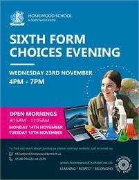 Open Event   Homewood School