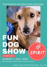 Spirit of Tenterden Fun Dog Show