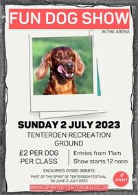 Spirit of Tenterden Fun Dog Show