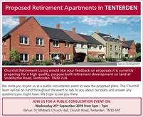 Public Consultation   Proposed Retirement Apartments