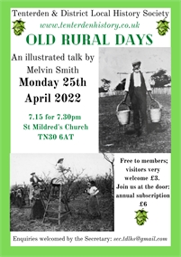 Tenterden and District Local History Society Talks