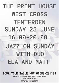 Live Music | The William Caxton | Tenterden