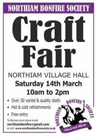 Craft Fayre | Northiam Bonfire Society