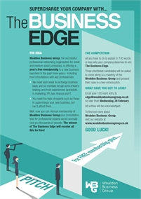 Business Edge Competition   Wealden Business Group