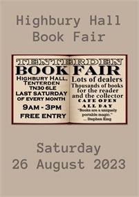 Tenterden Book Fair