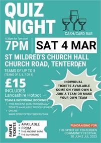 Quiz Night | Spirit of Tenterden Festival