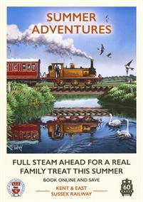 Kent & East Sussex Railway - train journeys
