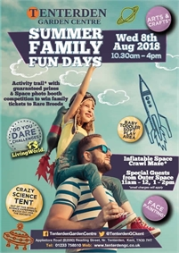 Family Fun Days at Tenterden Garden Centre