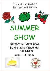 Tenterden & District Horticultural Society Shows