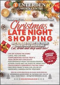 Christmas Late Night Shopping | Tenterden Garden Centre