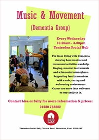 Tenterden Day Centre Memory Cafe