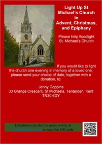 Light up St Michael's Church this Christmas