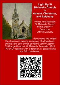 Light up St Michael's Church this Christmas