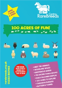 Family Fun at the Rare Breeds Centre | Farm Attraction
