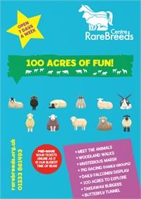 Family Fun at the Rare Breeds Centre   Farm Attraction
