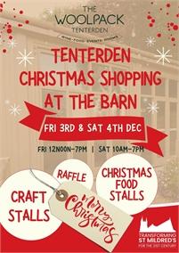Tenterden Christmas Shopping at the Barn