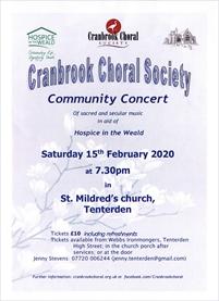 Community Concert | Cranbrook Choral Society
