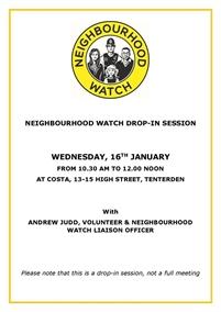 Neighbourhood Watch Meeting