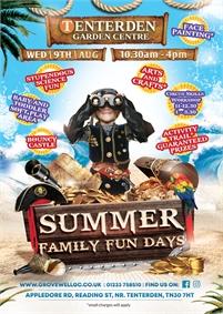 Summer Family Fun Days   Tenterden Garden Centre
