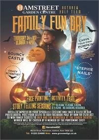 October Half Term Family Fun Day | Hamstreet Garden Centre