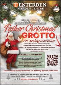 Father Christmas Grotto   Tenterden Garden Centre