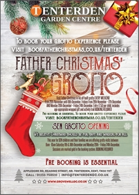 Father Christmas Grotto | Tenterden Garden Centre