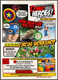 Comic Heroes Summer Family Fun Day