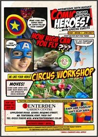 Comic Heroes Summer Family Fun Day