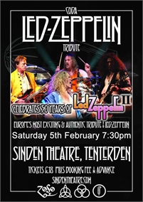 CODA a Tribute to Led Zeppelin   The Sinden Theatre