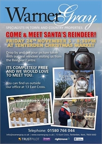 Come and Meet Santa's Reindeer