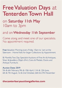 Free Valuation Days | Tenterden Town Hall
