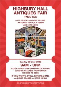 Tenterden Antiques Collectors and Book Fair