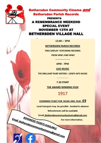 A Remembrance Special Event