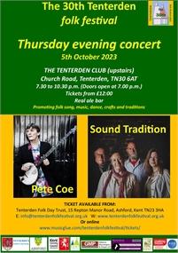 Thursday Concert | Tenterden Folk Festival