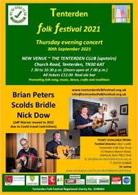 Thursday Concert | Tenterden Folk Festival
